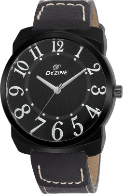 Dezine DZ-GR043-BLK-BLK  Analog Watch For Boys