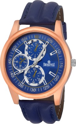 Swisstyle SS-GR903-BLU-BLU  Analog Watch For Men