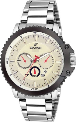 Dezine DZ-GR646-WHT-CH  Analog Watch For Boys
