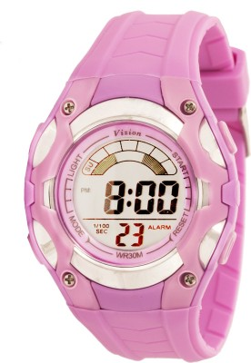 Vizion 8528019-7PURPLE Cold Light Digital Watch For Boys