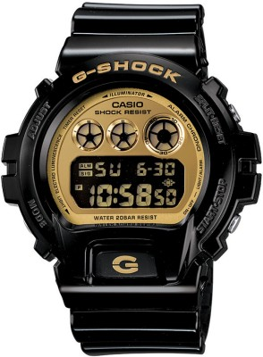 Casio G-Shock DW-6900CB-1DR (G265) Chronograph Digital Gold Dial Men's's Watch