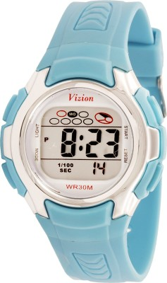 Vizion 8520-8BLUE Cold Light Digital Watch For Boys