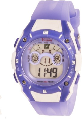 Vizion 8535059-4DBLUE Sports Series Digital Watch For Boys