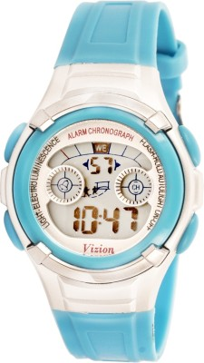 Vizion 8523B-8BLUE Sports Series Digital Watch For Boys