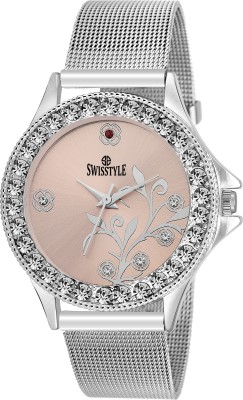Swisstyle SS-LR097-PNK-CH  Analog Watch For Girls
