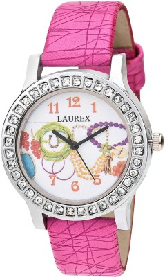 Laurex LX-129  Analog Watch For Girls