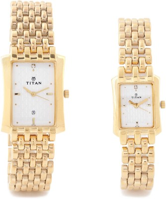Titan NH15802490YM04 Bandhan Watch  - For Couple