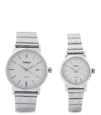 Timex PR157 Classic Analog Watch For Couple