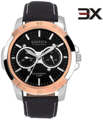 Exotica Fashions EFG-05-TT-DM-B-New New Series Analog Watch  - For Men