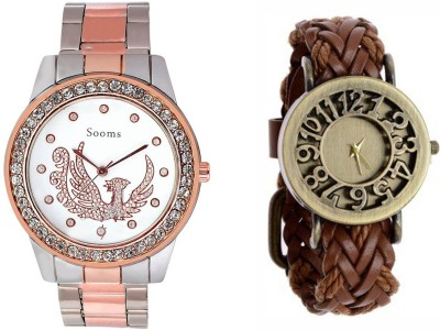 Sooms LYCM0154  Analog Watch For Girls