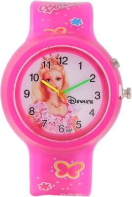 Devars N87-PK-BARBIE-2 Fashion Analog Watch For Girls