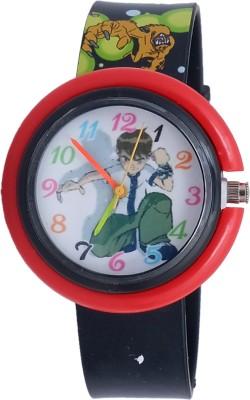 Super Drool ST2886_WT_BLACKB10  Analog Watch For Boys