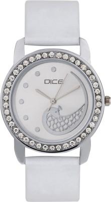 DICE PRSS-W139-8237 Princess Silver Analog Watch For Women