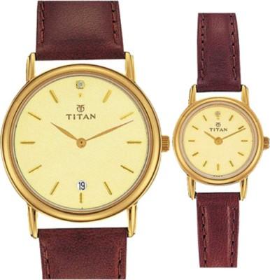 Titan 520818YL06  Analog Watch For Couple