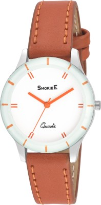 The Smokiee T.S.White Brown 0721L Analog Watch   For Girls