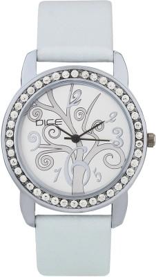 DICE PRSS-W171-8246 Princess Silver Analog Watch For Women
