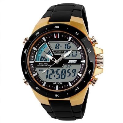 Skmei 1016-G Chronograph Analog-Digital Watch For Men