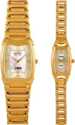 Timex PR114 Empera Analog Watch For Couple