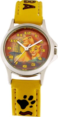 Disney 3K0906U-LK (YELLOW)  Analog Watch For Kids