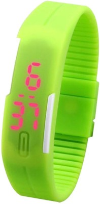 Q Q Led Band Digital Watch    For Men   Women available at Flipkart for Rs.599