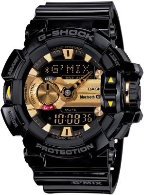 Casio G557 G Shock    GBA 400 1A9DR   Analog Digital Watch   For Men Casio Wrist Watches