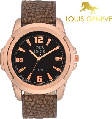 Louis Geneve LG-MW-RG-BROWN-033  Analog Watch For Boys