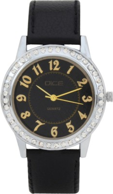 DICE PRS-B076-8017 Princess Analog Watch For Women