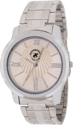 Pittsburgh Polo Club PBPC-469-SS-SIL_353 Watch  - For Men