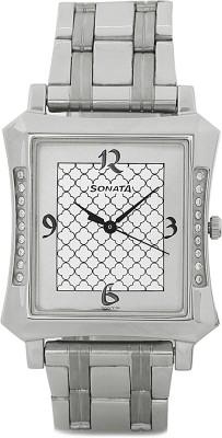 Sonata 77042pp03J Watch  - For Men