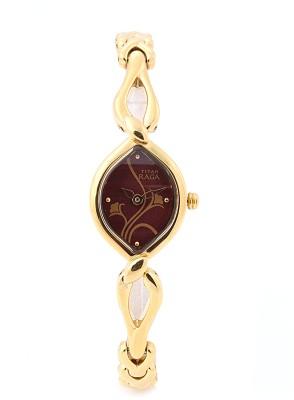 Titan NH2455YM02 Raga Analog Watch   For Women Titan Wrist Watches