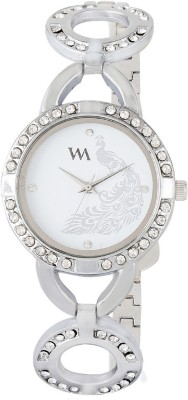 Watch Me WMAL-107-SAX Swiss Analog Watch For Girls