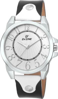 Dezine DZ-GR042-WHT-BLK  Analog Watch For Boys