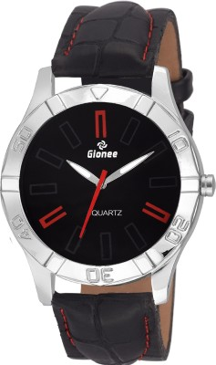 Gionee g011 Analog Black Dial and Leather Strap Casual Watch  - For Men