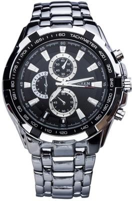 Curren 8023-SLV-BK Watch  - For Men at flipkart