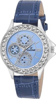 Dezine DZ-LR096-BLU-BLU  Analog Watch For Unisex