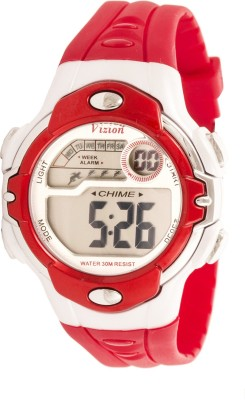 Vizion 8532B-6RED Sports Series Digital Watch For Boys