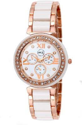 MKS UNIQUE DSS 01 Analog Watch   For Girls MKS Wrist Watches
