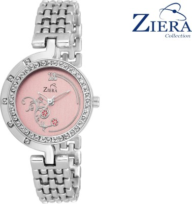 Ziera ZR8025 Special Stylish Pink Titan_ium Analog Watch For Girls