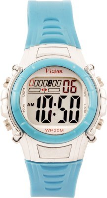 Vizion 8516-4BLUE Cold Light Digital Watch For Boys