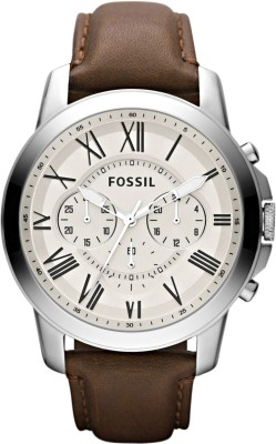 Fossil FS4735 GRANT Watch  - For Men