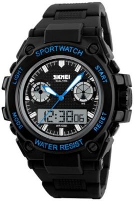 Skmei GMARKS-7121-BLUE Sports Analog-Digital Watch For Unisex