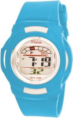 Vizion 8522-7BLUE Cold Light Digital Watch For Boys