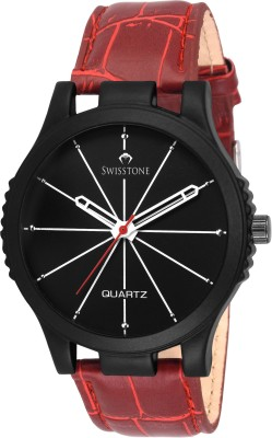 SWISSTONE SW-BK071-BLK-RED  Analog Watch For Men