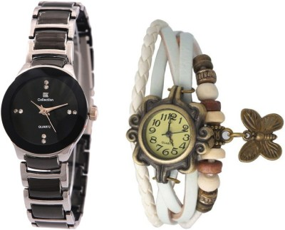 IIK Collection Silver-White Analog Watch  - For Women   Watches  (IIK Collection)