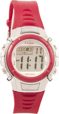 Vizion 8516-1RED Cold Light Digital Watch For Boys