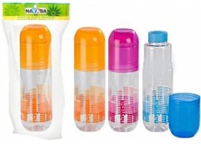 Nayasa Chill Pill 1000 ml Water Bottles(Set of 3, Orange, Pink, Blue)  available at flipkart for Rs.289