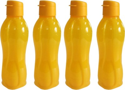 Tupperware Aquasafe 750 ml Water Bottles(Set of 4, Yellow)  available at flipkart for Rs.899