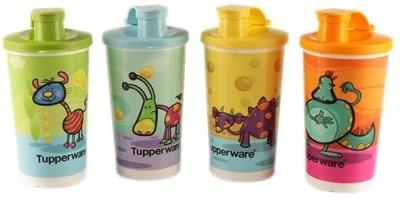 Tupperware Tupperware Willie N Friends Tumblers Set Of 4 330 ml Bottle Pack of 4, Multicolor, Plastic