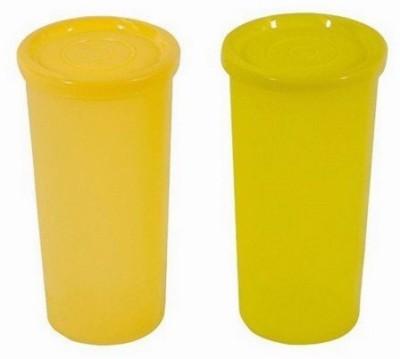 Tupperware Jumbo Tumbler 470 ml Bottle Pack of 2, Yellow, Plastic