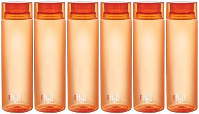 Cello H20-Orange-6 1000 ml Bottle(Pack of 6, Orange)